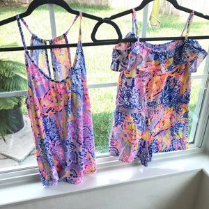 Lilly Pulitzer Lacy top